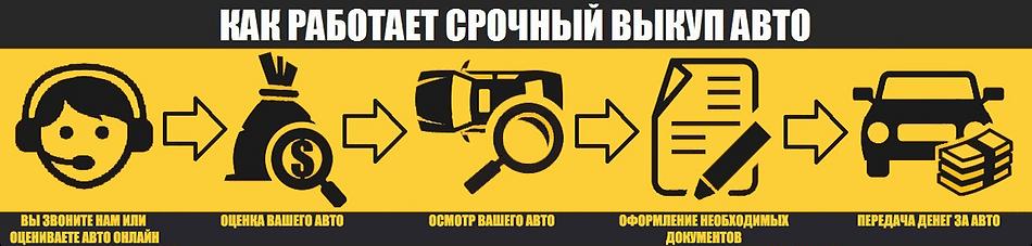 На картинке нарисованы все этап срочного выкпа в Омске
