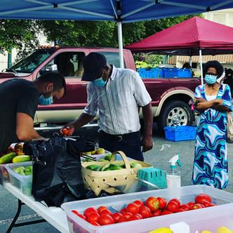 Farmers Market in Laurens