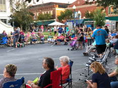 Events on the Square in Laurens