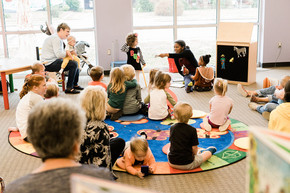 Lambs and Lions Storytime Kickoff! Wednesday, September 8, 2021 at 10:00 A.M.