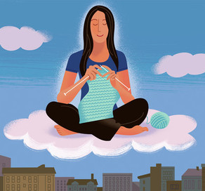 Meditation & Crocheting
