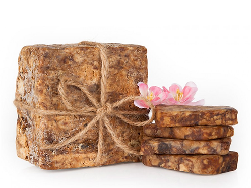 Raw African Black Soap