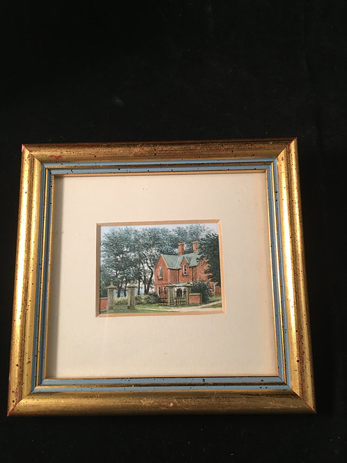 5PW Miniature watercolor from England
