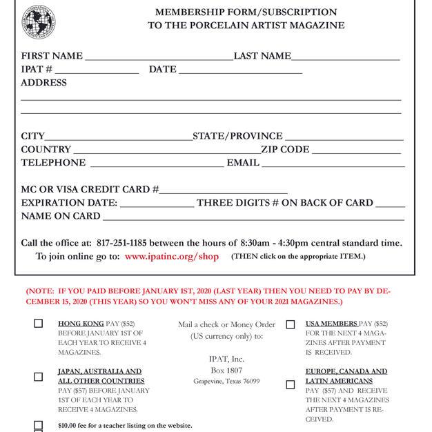 IPAT Membership