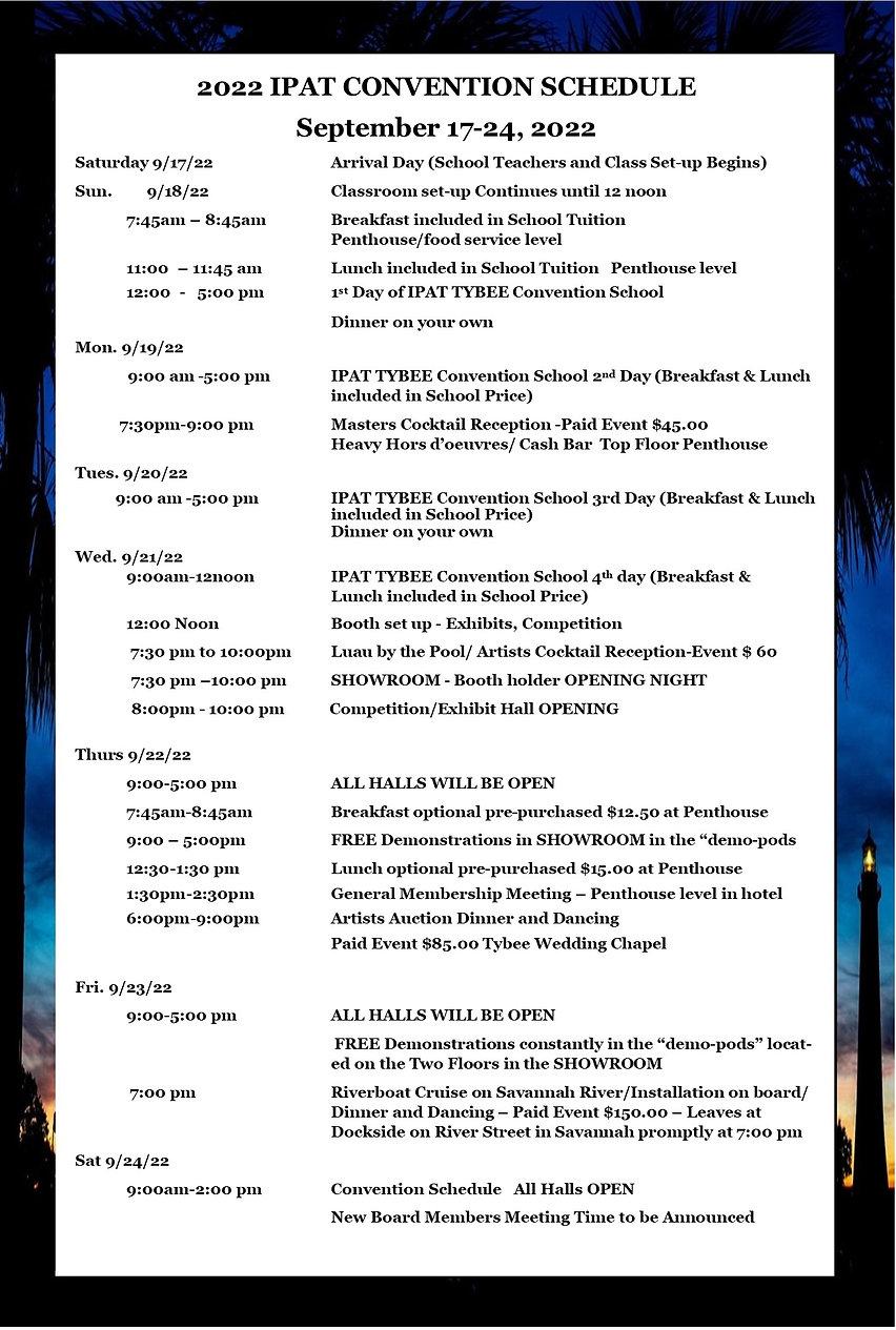 CONVENTION SCHEDULE - TYBEE magazine.jpg