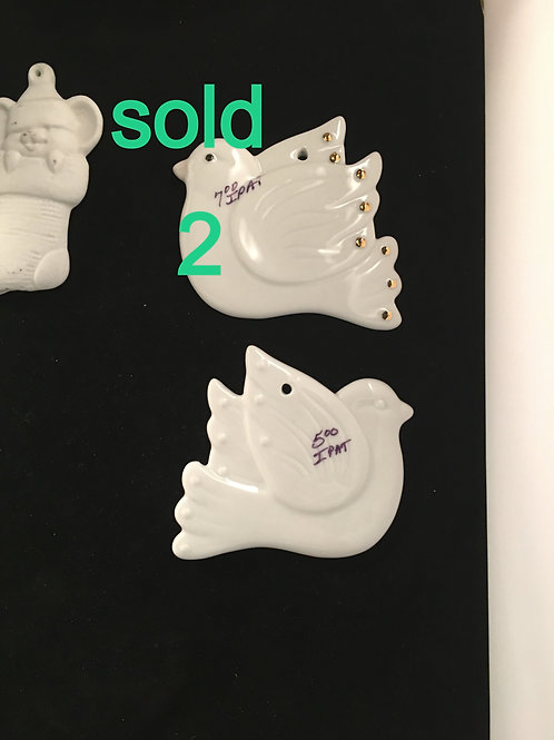 IPAT 7   FLAT DOVES WITHOUT GOLD $5 EACH