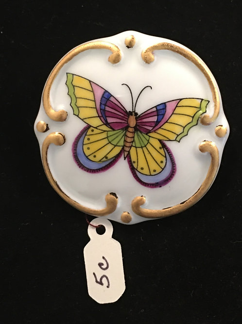 5C  BUTTERFLY BROOCH
