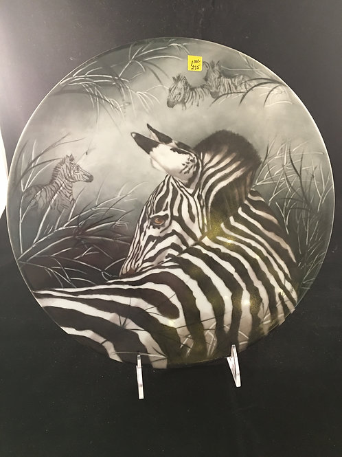 1MC  LARGE ZEBRA TILE BY ALICE WOFFORD