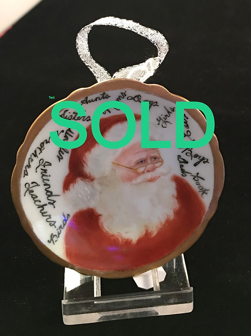 8PW Santa with Stand by Cookie Barton