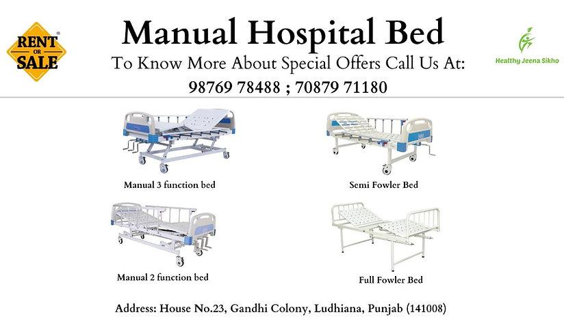 Hospital Beds, Ludhiana, Healthy Jeena Sikho