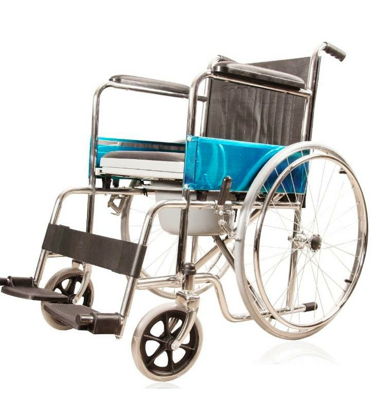 Executive commode wheelchair