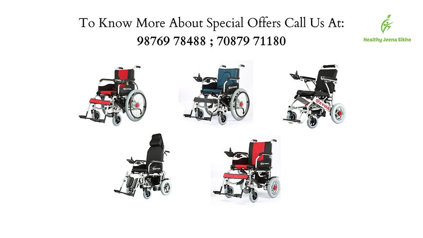 motorised wheelchair noida