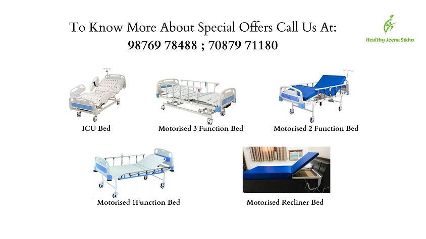 motorised hospital beds in noida