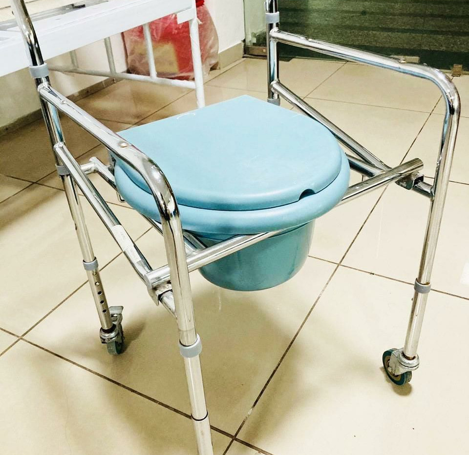 Simple Commode wheelchair