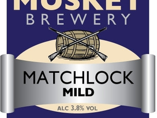 """Matchlock Mild, new for CAMRA's """"Mild In May"""""""