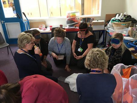 INSET training at Kimberly Primary School