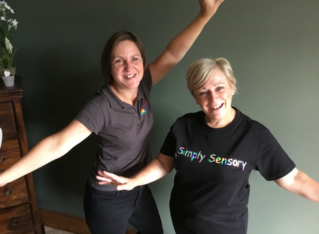 We love our Simply Sensory T-shirts