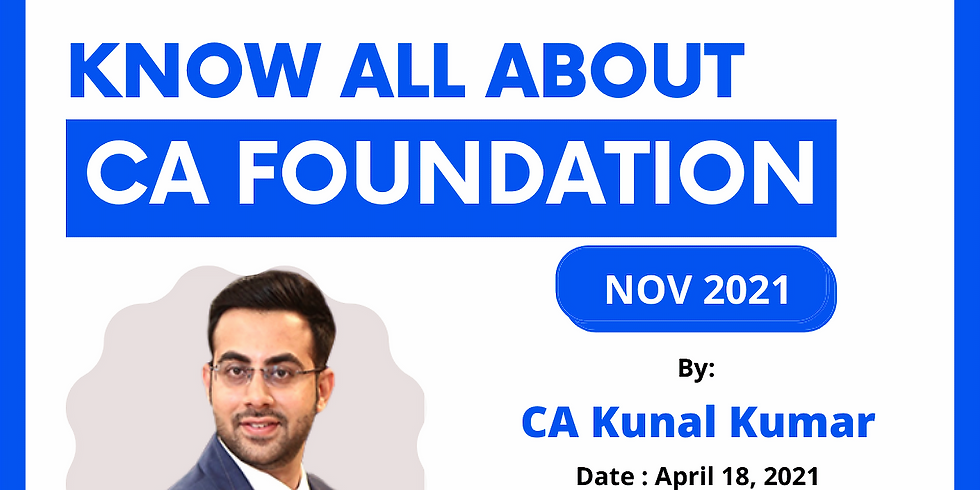 Know All About CA Foundation