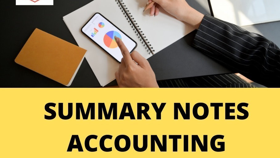 Quick Revision Notes (Accounting Equation)