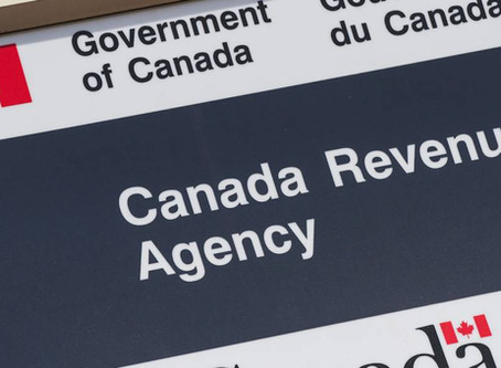 Why you should create a CRA My Account NOW!