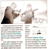 stanbul_Gazetesi-SAZ_DÜNYA_PRÖMÝYERÝ_ÝÇÝ