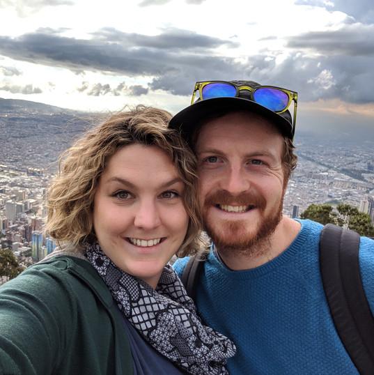On top of Bogota