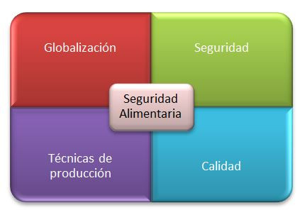 Los cuatro fundamentos de la seguridad alimentaria.