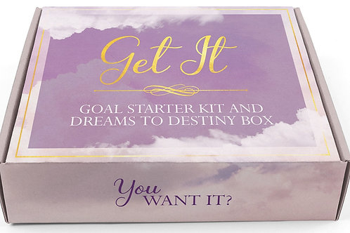 Get It™ Goal Starter Kit and Dreams to Destiny Box