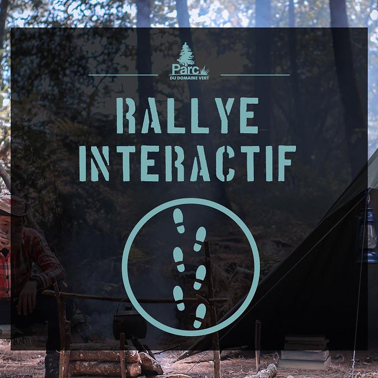 15 Oct -Rallye interactif