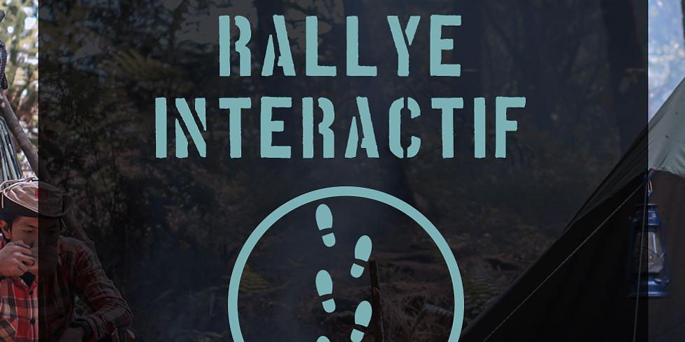 16 Oct -Rallye interactif