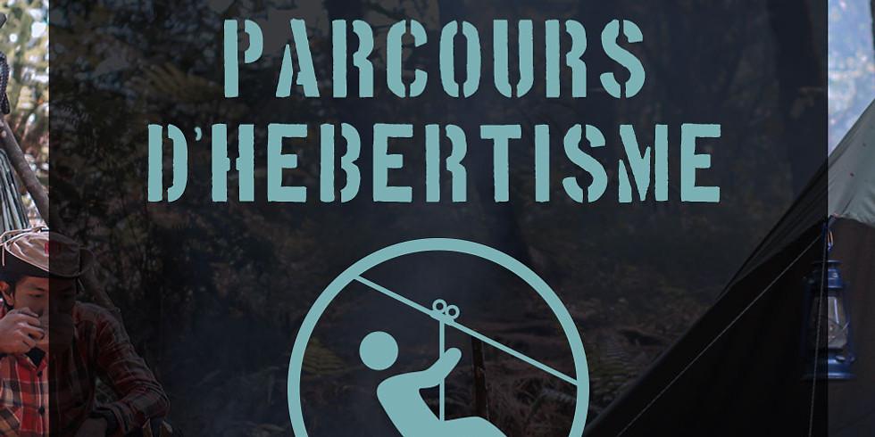 15 Oct - Parcours d'hébertisme