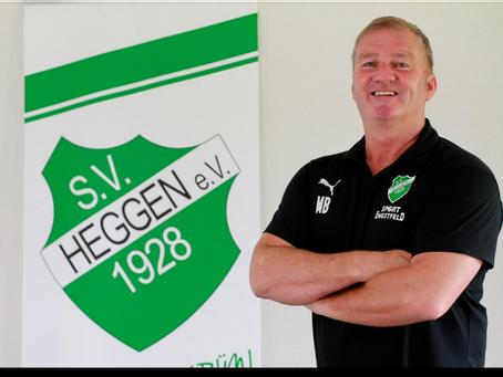 Michael Berghaus wird einstimmig in seinem Amt als 1. Vorsitzender des SV 1928 Heggen bestätigt