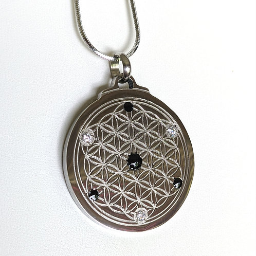 Flower of Life: 'Three Star' Titanium