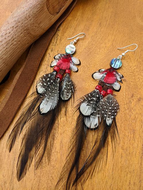 Feathers - Earrings