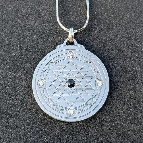 Sri Yantra: 'Balance' Titanium