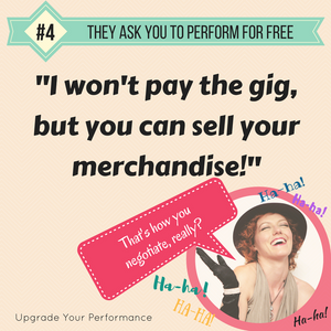 Do you perform for free