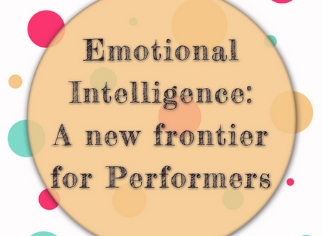 """EQ: a """"new"""" frontier for performers"""