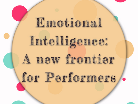 "EQ: a ""new"" frontier for performers"