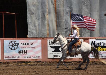 Parkfield_Rodeo_Katy_Flag