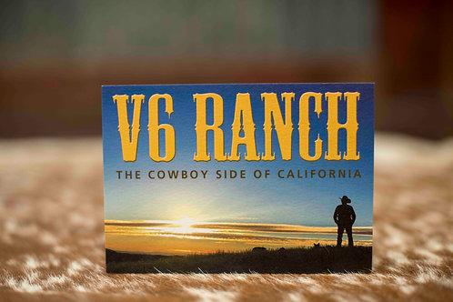 V6 Ranch Post Card