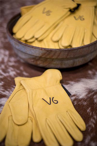 V6 Deer Skin Gloves