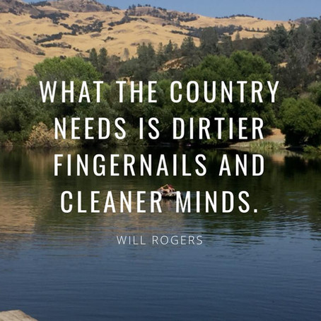 Will Rogers We Need You