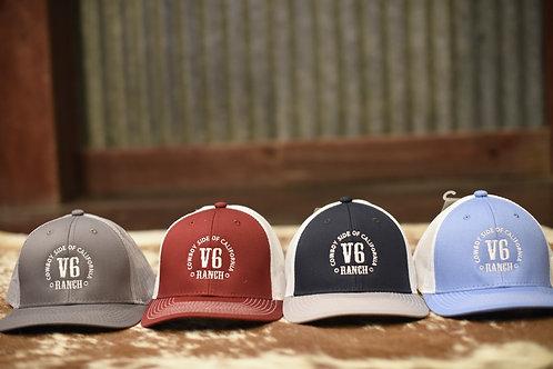 Embroidered V6 Hat