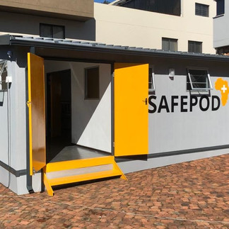 Safepodmobile field hospitals and health