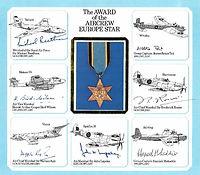 Award of the Aircrew Europe Star