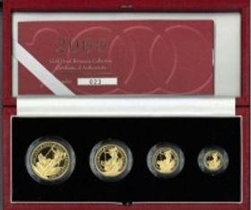 Gold Britania Memorial Coins