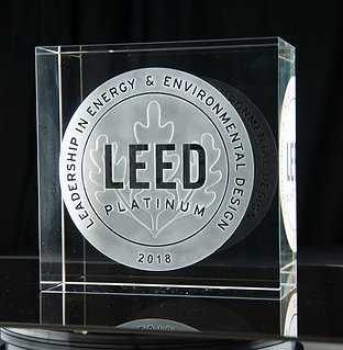 LEED Glass BLOCK 20 x 20 x 10 cm
