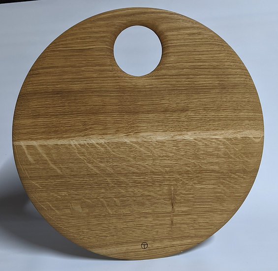 round board in oak 2