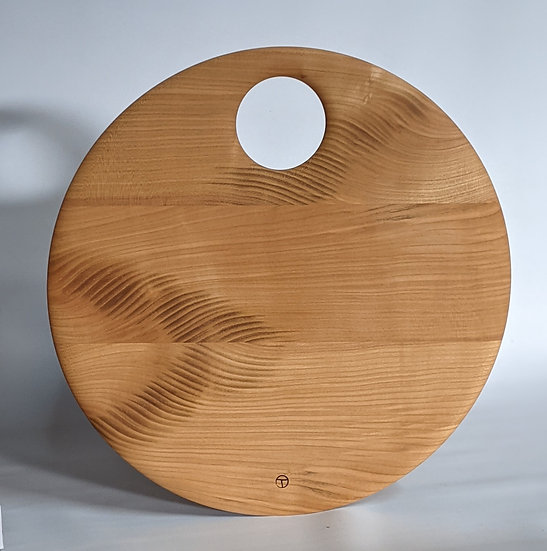 round board in cherry 1