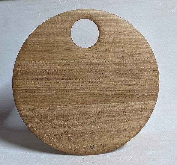 round board in oak